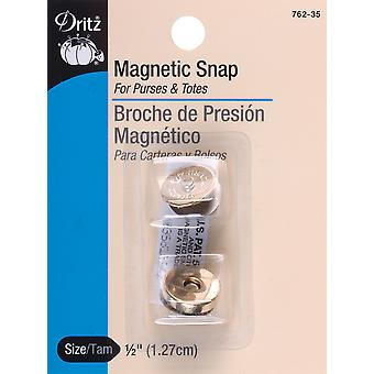 Round Magnetic Snap 1/2