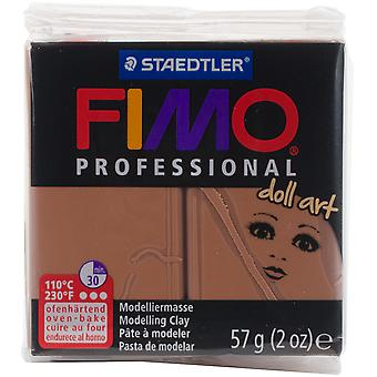 Fimo Professional Doll Art Clay 2Oz-Opaque Nougat