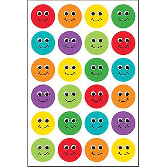 Hygloss Themed Stickers 3/Pkg-Smiley Face