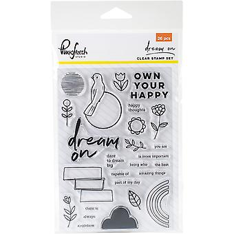 Dream On Clear Photopolymer Stamps 4