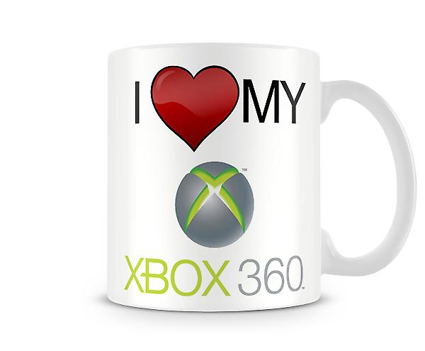 I Love My Xbox Logo Printed Mug