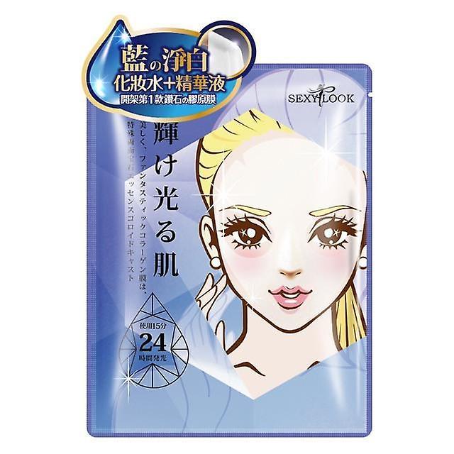Hydrogel Éclaircissant Mask Collagène Sexylook Sapphire 3pcs BedrCoWxQ