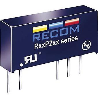 RECOM R05P215S/P DC/DC converter (print) 5 Vdc 15 Vdc 133 mA 2 W No. of outputs: 1 x