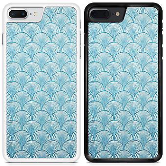 Mermaid Scale Custom Designed Printed Phone Case For Apple iPhone 7 MS02 / White