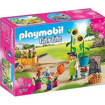 Playmobil 9082 ciudad vida Floreria juguete fijado