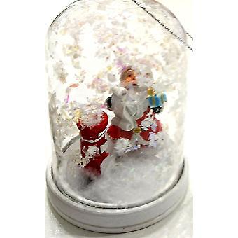 LilyPond artesanías y regalos de Navidad con forma de cúpula decoración Santa y Pillar Box