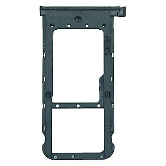 For Huawei P smart plus cards Halter SIM card tray holder black sled parts new