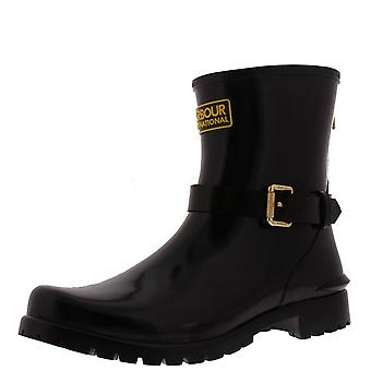 Womens Barbour Mugello Winter Snow Waterproof Rubber Rain Ankle Boots
