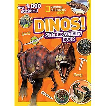 Dinos Sticker Activity Book [With Sticker(s)] (National Geographic Kids)