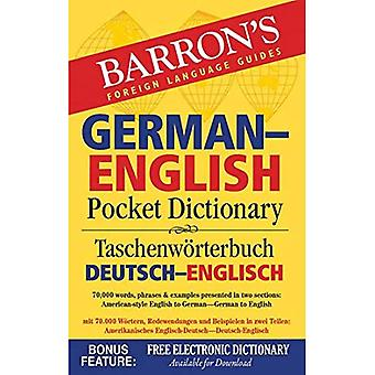 Barron's German-English Pocket Dictionary: 70,000 Words, Phrases & Examples Presented in Two Sections: American...