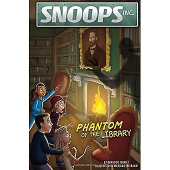 Phantom of the Library (Snoops, Inc.)