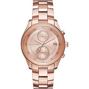 Michael Kors Briar Rose Gold-tone Dial Ladies Wrist Watch MK6465