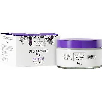 Scottish Fine Soaps Larch & Lavender Body Butter Jar