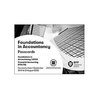 FIA Foundations of Financial Accounting FFA (ACCA F3): Passcards