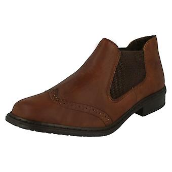 Ladies Rieker Ankle Boots 52093