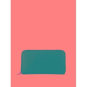Stella Mccartney Black Faux Leather Wallet