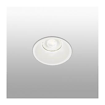 Faro - Gas White Round Recessed Spotlight FARO43404