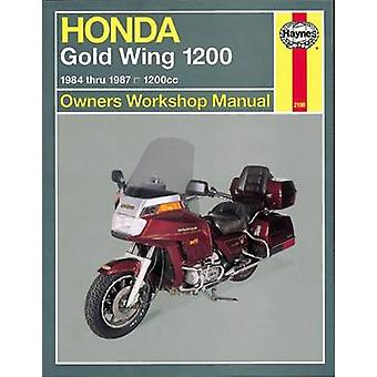 Honda Gold Wing 1200 (1984-87) Owners Workshop Manual by Alan Ahlstra