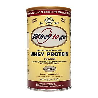Solgar Whey To Go Protein Powder (Natural Vanilla) (12 oz.), 340 g