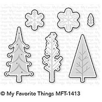 My Favorite Things Trio of Trees Die-Namics (MFT-1413)