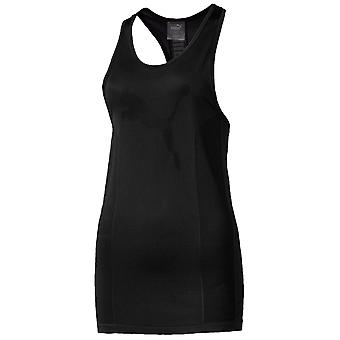 Puma Evoknit Seamless Womens Ladies Sleeveless Tank Top Vest Black