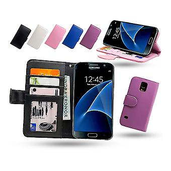 Cuir portefeuille-affaire/Samsung Galaxy S7 Edge