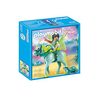Playmobil 9137 Fairies Enchanted Fairy With Horse Playset