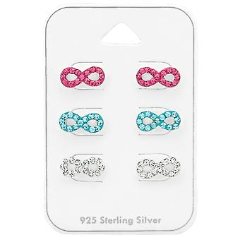 Infinity - 925 Sterling Silver Sets - W38733X