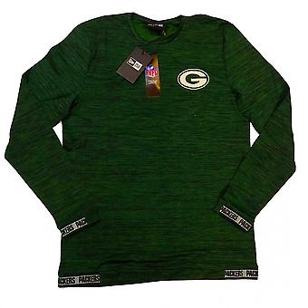 New Era Nfl Green Bay Packers Engineered Fit Long Sleeve T-shirt