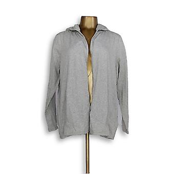 N'importe qui femmes-apos;s Sweater MP Cozy Knit Cardigan Gray A349790