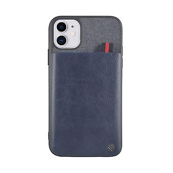 iPhone 11 Case Pure - Practical - Function Back Shell/Essex Blue Pocket