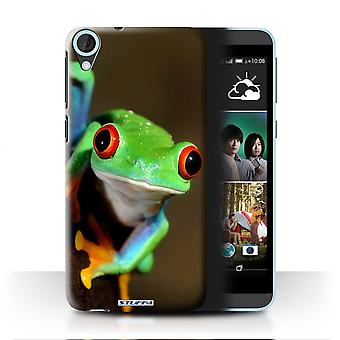 STUFF4 Case/Cover for HTC Desire 820s Dual/Frog/Wildlife Animals