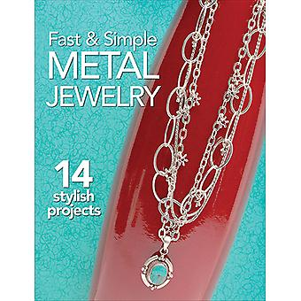 Kalmbach Publishing Books-Fast & Simple Metal Jewelry KBP-67876