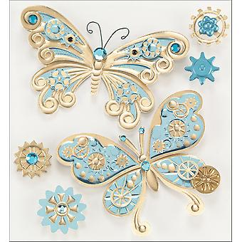 Jolee's Steampunk Sticker Butterflies J5021065