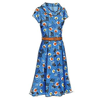 Misses' Misses' Petite Dress  F5 16  18  20  22  24 Pattern V8667  F50