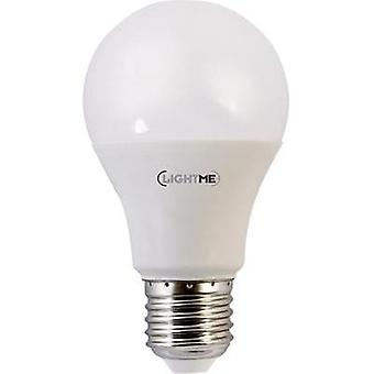 LED E27 Arbitrary 10 W = 60 W Warm white (Ø x L) 60 mm x 108 mm EEC: A+ LightMe 1 pc(s)