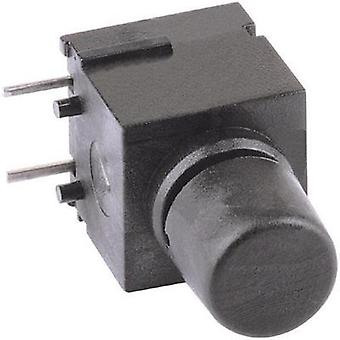 Pushbutton 60 V DC/AC 0.5 A 1 x Off/(On) Mentor 1852.6232 momentary 1 pc(s)