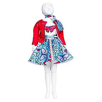 Dress Your Doll Lucy Butterfly (Toys , Educative And Creative , Design And Mode , Mode)