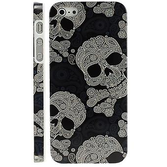 Cover with skulls laced for iPhone 5