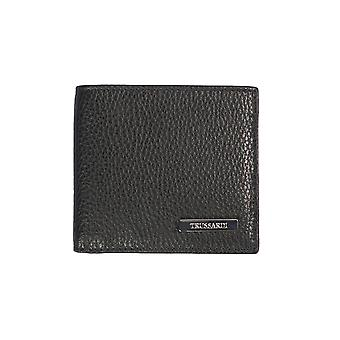 Trussardi 100% genuine leather men's Wallet Dollar Calf-10, 5x9, 5 x 1 .2 Cm