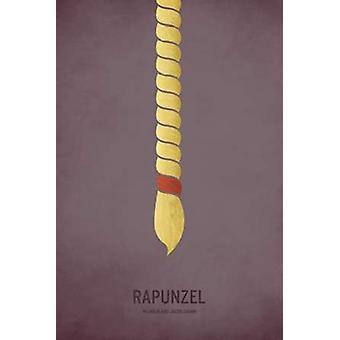 Stampa del manifesto di Rapunzel da Christian Jackson