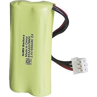 Cordless phone batteries GP Batteries GP65AAAH2BMX-8785 Suitable for brands: Philips NiMH 2.4 V 650 mAh