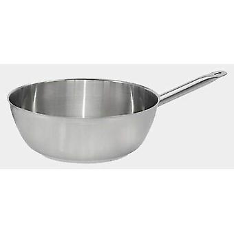 De Buyer PRIMARY flared rounded sauté-pan, straight edge, without lid