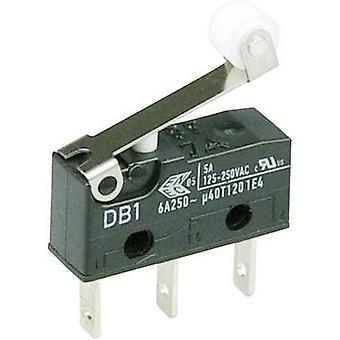 Microswitch 250 Vac 6 A 1 x On/(On) Cherry Switches DB1C-B1RB momentary 1 pc(s)