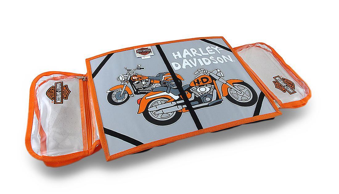 Harley Davidson Kids Bean Bag Lap Desk W Storage Pockets
