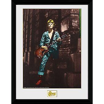 David Bowie Street Collector Print