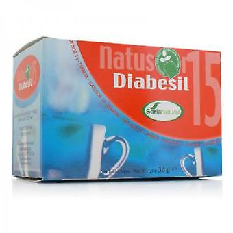 Soria Natural Natusor 15 - Infusion Diabesil (Herbalist's , Infusions)
