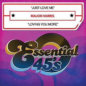 Major Harris - Just Love Me / Loving You More USA import
