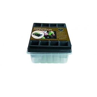 Standard Propagator Triple Pack (Contains 3 x Seed Tray, 24 cell Inserts, Lids) Gardening