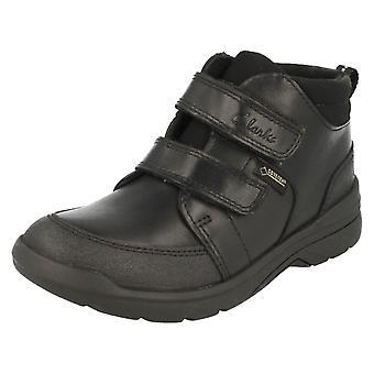 Boys Clarks Smart Ankle Boots Obietopgtx